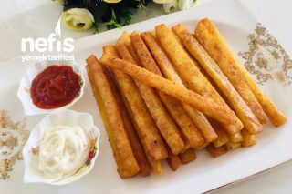 3 Malzemeyle Patates Cipsi (Bu Lezzete Bayılacaksınız) Tarifi