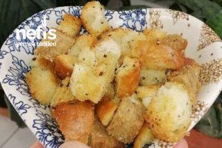 Baharatlı Kruton (Kıtır Ekmek) Tarifi