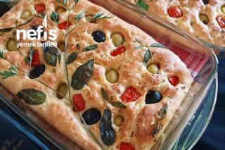 Zeytinyağlı Ekmek (Foccacia Ekmeği) Tarifi