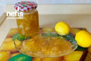 Hoş Aromalı Freş Bir Tat Limon Reçeli Tarifi