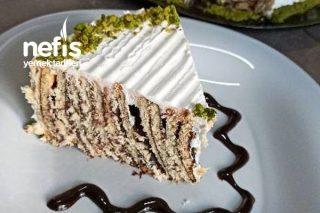 Pratik Bisküvi Pastası (Videolu) Tarifi