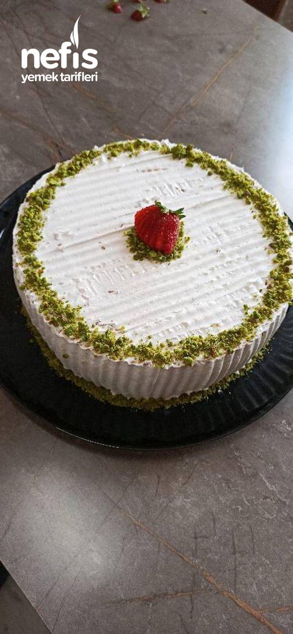 Pratik Bisküvi Pastası (Videolu)