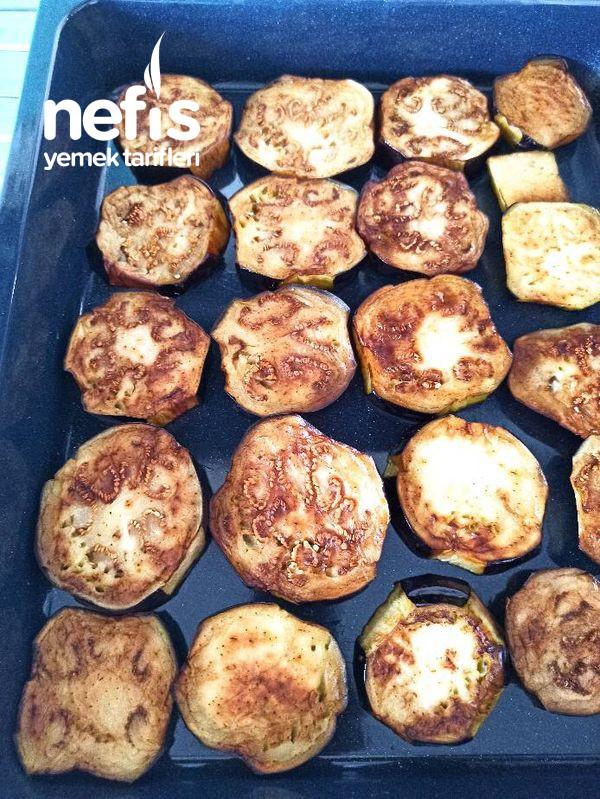 Fırında Patlıcan Oturtma (Kızartmadan)
