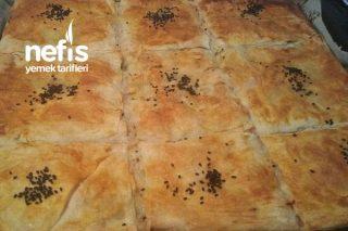 Hazır Yufkadan Pastane Tarzı Kıymalı Börek Tarifi