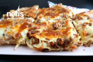 Lazanya (Lasagna Alla Bolognese) Tarifi