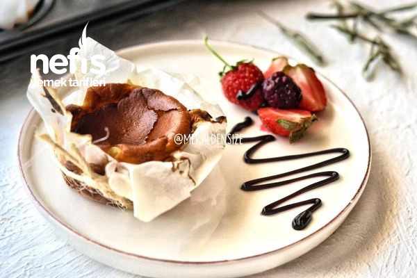 Mini Sansebastian Cheesecake