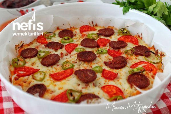 Bayat Ekmek Pizzası (Kahvaltıların Yıldızı)