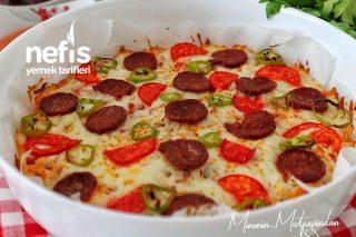 Bayat Ekmek Pizzası (Kahvaltıların Yıldızı) Tarifi