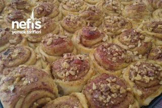 Cevizli Haşhaşlı Çörek ( Fazla Söze Gerek Yok O Bir Efsane) Tarifi