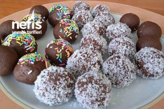 Çikolata Sossuz Enfes Cake Pop Tarifi