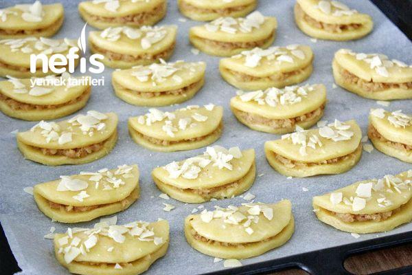Elmalı Pastane Kurabiyesi (Videolu)