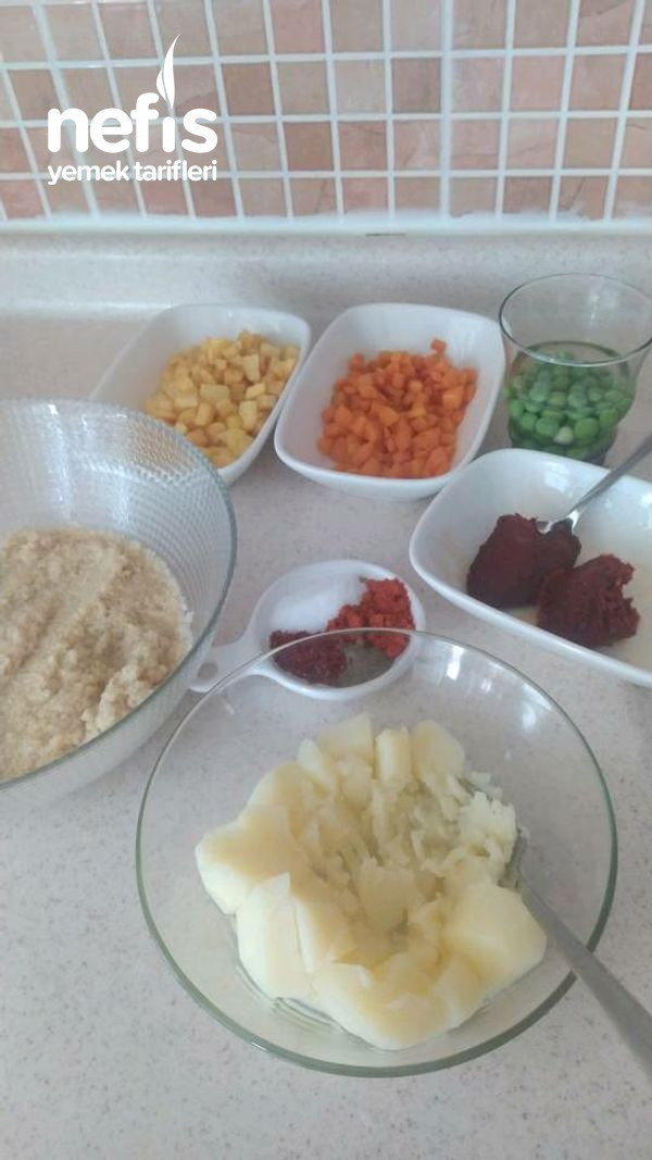 Garnitürlü Patates Çanakları