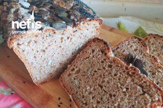 Sağlıklı Kolay Ekmek Tarifi