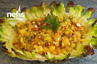 Her Öğün Tüketilebilir Lezzetli Mi Lezzetli Patates Salatası (Videolu) Tarifi
