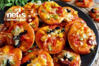 Atıştırmalık Mini Pizza Tarifi