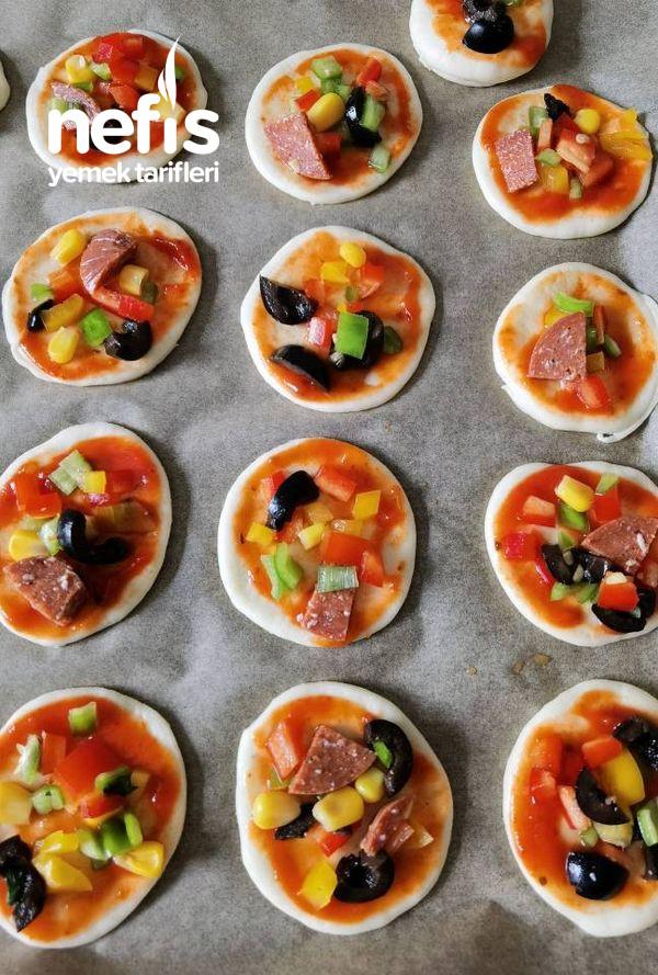 Atıştırmalık Mini Pizza