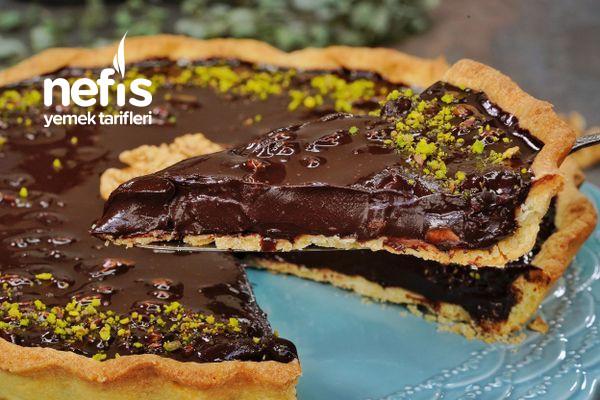 Çikolatalı Cevizli Tart Tarifi