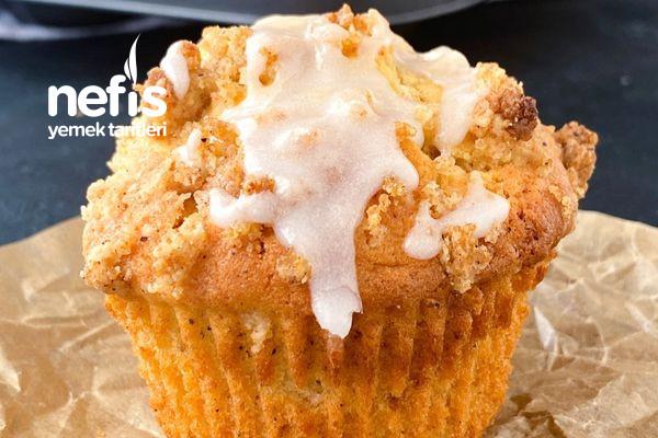 Elmalı Tarçınlı Muffin (Muhteşem Ötesi Lezzet)