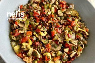 Hardallı Mantar Salatası Tarifi