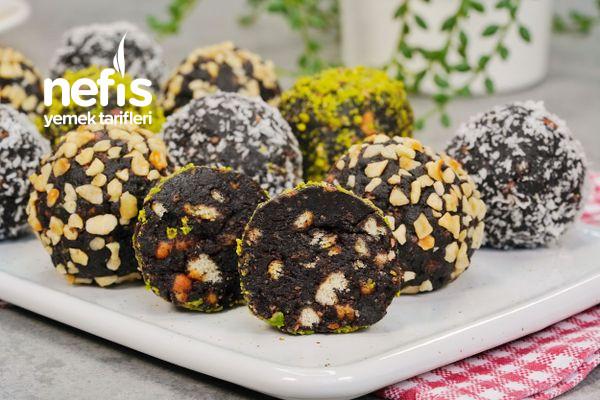 Çikolatalı Mozaik Topları