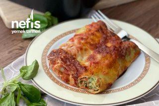 Ispanaklı Ve Ricottalı Cannelloni Tarifi