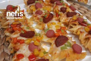 Lezzetli Makarna Pizza Tarifi