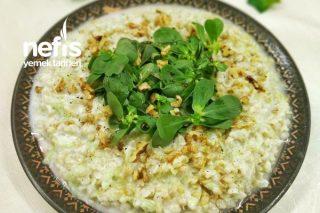 Semizotlu Salatalıklı Buğday Salatası Tarifi