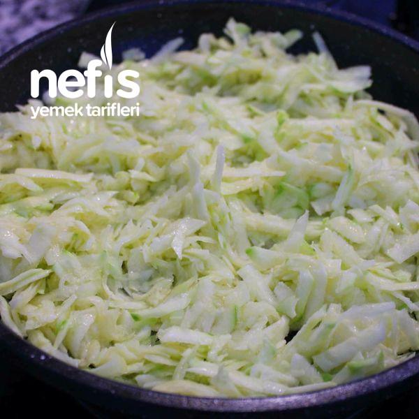 Çıtır Nohutlu Kabak Salatası