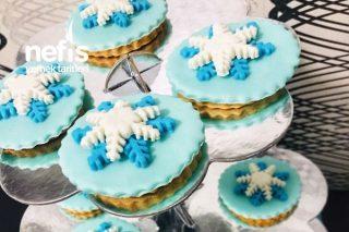 Şeker Hamurlu Elsa Konsept Kurabiye Tarifi