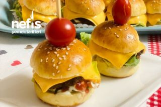 Ev Yapımı Mini Hamburger Tarifi