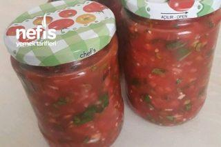 Kışlık Soğuk Sos (Salata) Tarifi