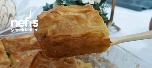 Peynirli Pırasalı Börek