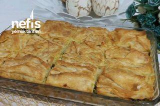 Peynirli Pırasalı Börek Tarifi