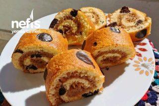 Benekli Elmalı Rulo Pasta (Kırılmaz) Tarifi