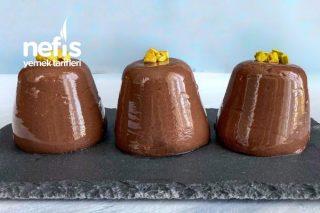 Evde En Lezzetli Çikolatalı Puding (Videolu) Tarifi