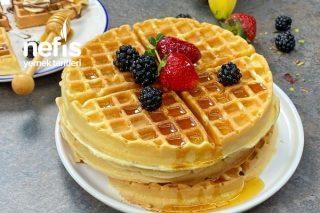 İster Tavada İster Makinede: Efsane Waffle Tarifi (videolu)