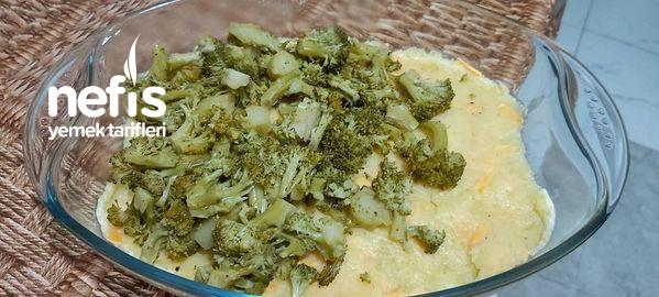 Patatesli Brokoli Graten