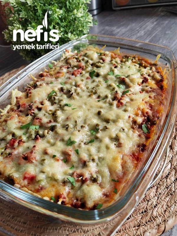 Fırında Kıymalı Ve Sebzeli Patates Püresi