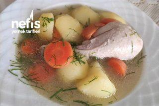 Sebzeli Tavuk Haşlama (Bol Vitamin Deposu) Tarifi