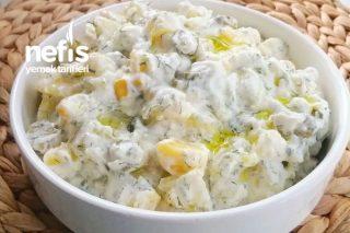 Yoğurtlu Patates Salatası (Videolu) Tarifi