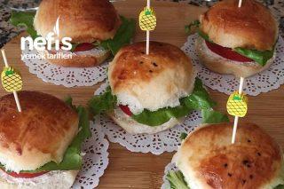 Okul Çocuklarına Beslenmeye Ponçik Sandviç Tarifi
