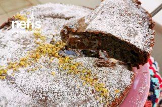 Sufleyi Kıskandıran Soslu Sufle Pastası (Akışkan Çikolata Soslu) Tarifi