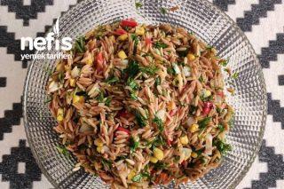 Herşeyin Yanına Giden Şehriye Salatası Tarifi