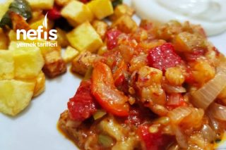 Köz Biberli Köz Patlıcan Harika Bir Lezzet Tarifi