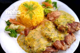 Mükemmel Bir Sos Eşliğinde Tavuk Pirzola Tarifi
