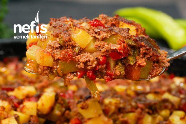Kıymalı Fırın Yemeği Tarifi (Arap Tava)