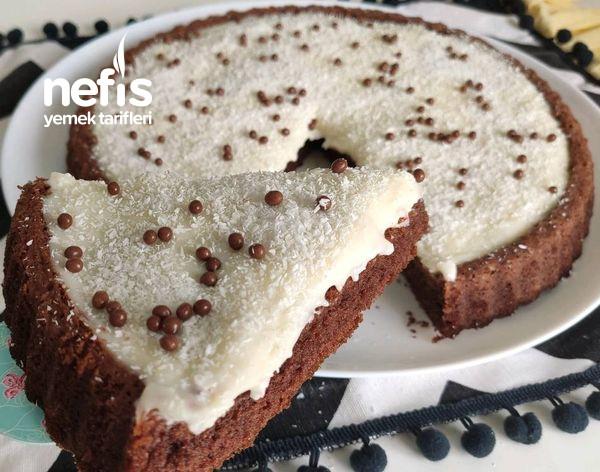 İpeksi Kremasıyla Yumuşacık Tart kek (Videolu)