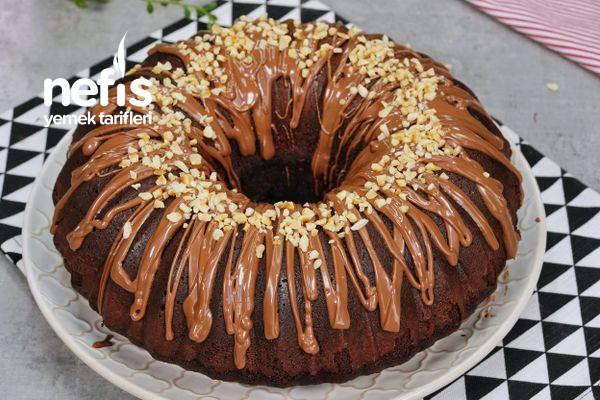 Bilindik Kek Malzemeleriyle Çikolatalı Efsane Kek (videolu)