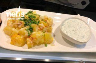 Fırında Kremalı Karnabahar Patates Tarifi