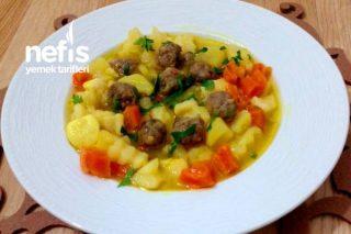 İştah Açan (Köfteli Patatesli Kereviz Yemeği) Tarifi